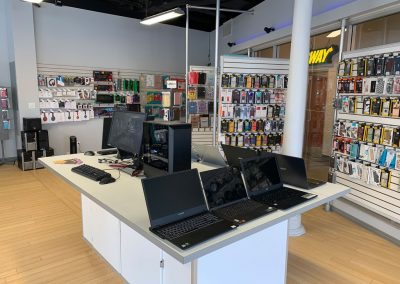 We carry Lenovo Thinkpads and high performance systems for gamaing
