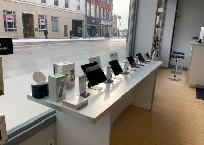 We offer an array of Apple iPads and iPhones, along with accessories to go with them.